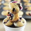 Mini Jordan Marsh Blueberry Muffins With a Lemon Glaze