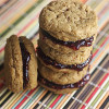 Flourless Peanut Butter and Jelly Sandwich Cookies