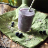 Toasted Oat Blueberry Smoothie
