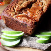 Apple Butter Swirl Spice Cake