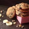 Banana Walnut Dulce De Leche Chip Cookies