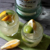 Lemon Lime Rum Cocktail - Saying Goodbye to a Superman
