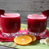 Beet, Orange, Carrot, and Banana Smoothie
