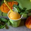 Mango Mojito Sherbet