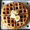 Fall Spiced Banana Waffles