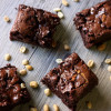 Gooey Peanut Butter Chocolate Chip Brownies