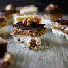 Caramel Peanut Shortbread Bars