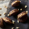Peanut Butter Brownie Sandwich Cookies