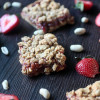 Peanut Butter and Strawberry Jam Bars