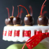Double Dipped Chocolate Caramel Cherries