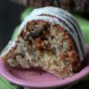 Banana Coconut Crunch Cake