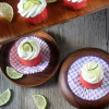 Watermelon Lime Cheesecake Bites