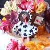 Thanksgiving Chocolate-Pumpkin Layer Cake