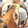 Blueberry Cheesecake Swirl Bundt Cake