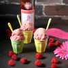 Raspberry Moscato Ice Cream