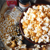 Spicy Cheddar Cheese Popcorn