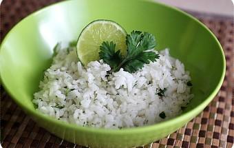 Cilantro Lime Rice {mind-over-batter.com}