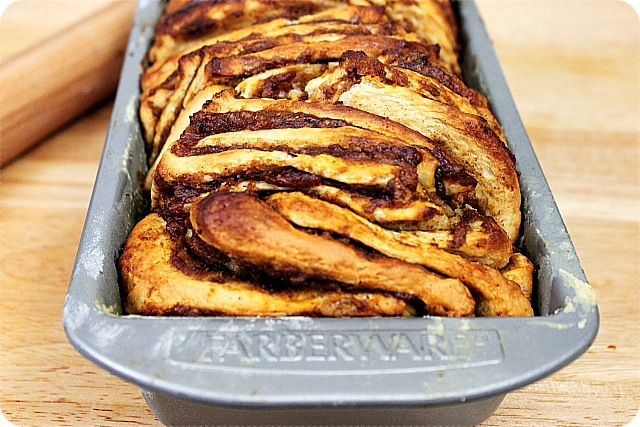 Pumpkin and Brown Sugar Pull Apart Bread