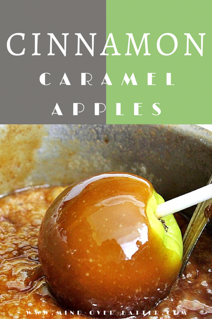 Cinnamon Caramel Apples - www.mind-over-batter.com