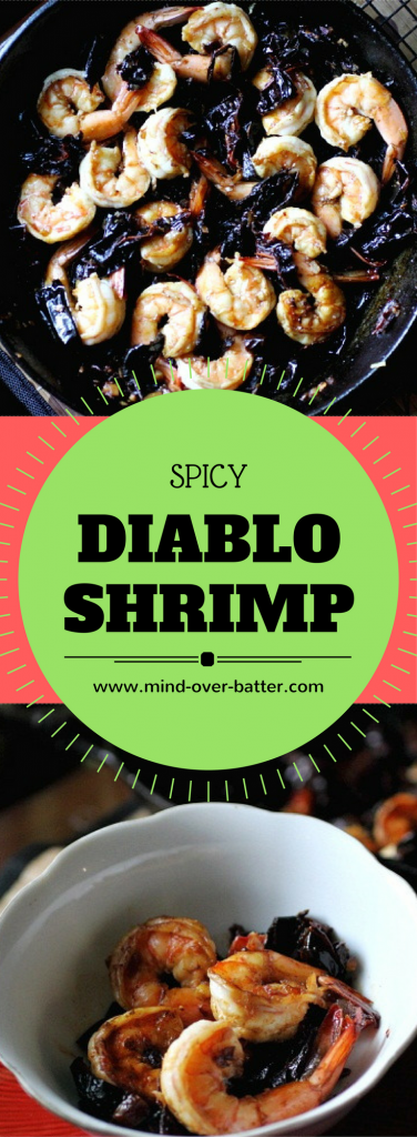 Spicy Diablo Shrimp Recipe -- www.mind-over-batter.com