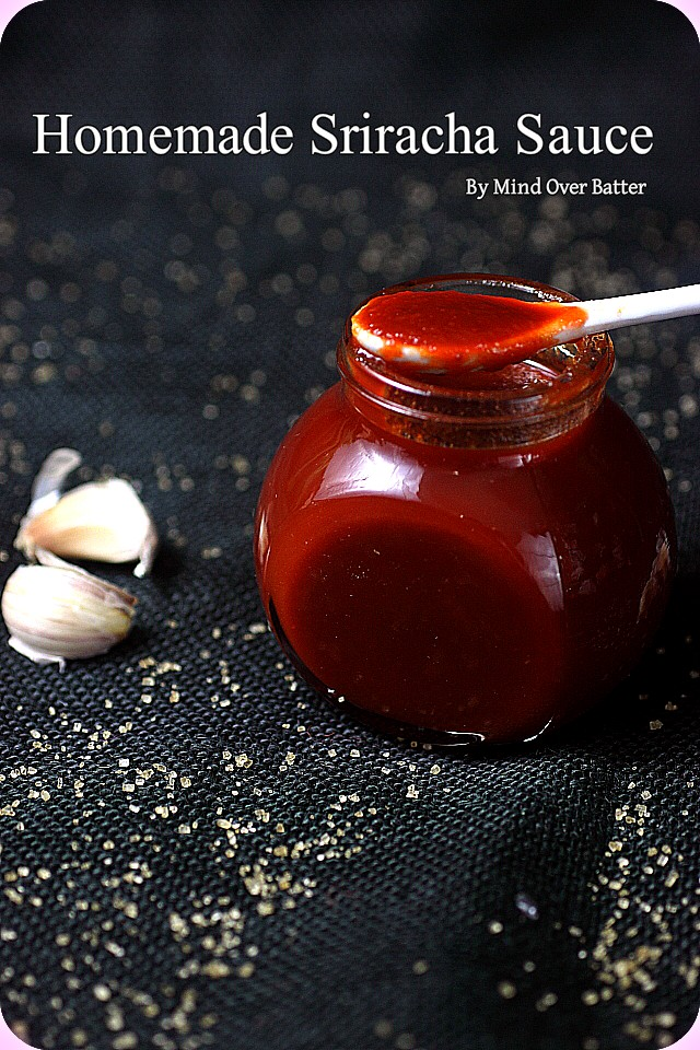 Homemade Sriracha {mind-over-batter.com}