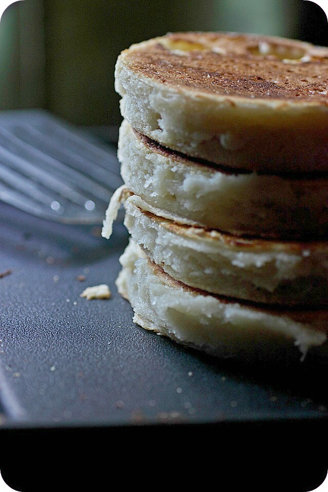 No Bake, No Knead English Muffins {mind-over-batter.com}