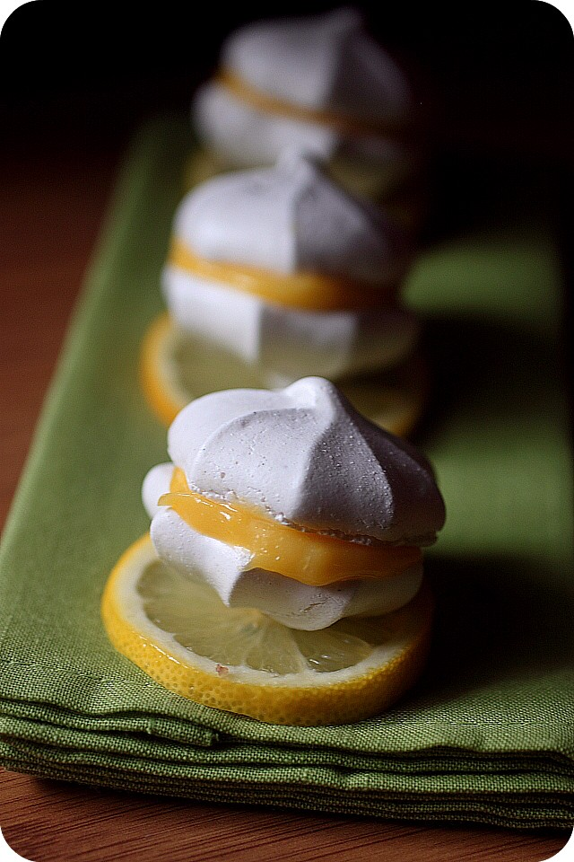 Lemon Meringue Sandwich Cookies {mind-over-batter.com}