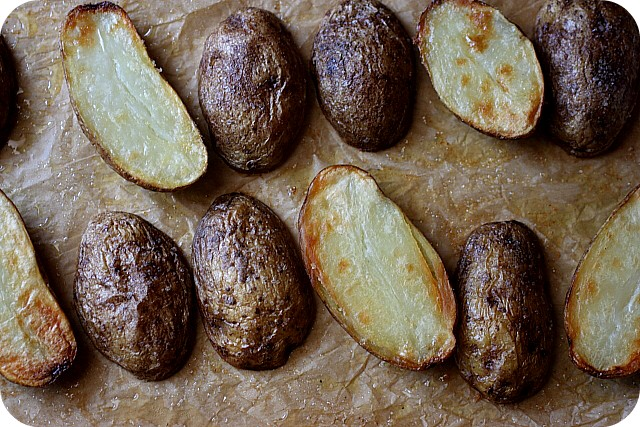 EASY! Oven Roasted Potatoes