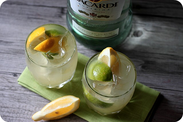 LEMON LIME RUM COCKTAIL {MIND OVER BATTER}