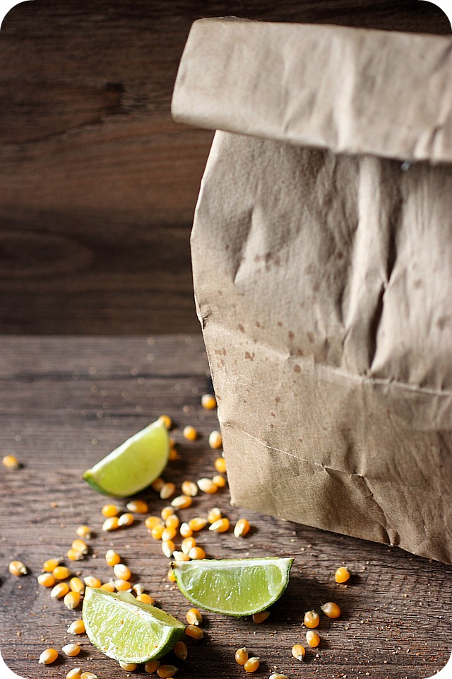 Habanero Lime Popcorn {mind-over-batter.com}