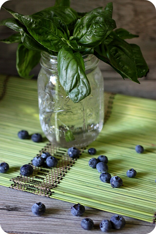 Blueberry Basil Smash {mind-over-batter.com}