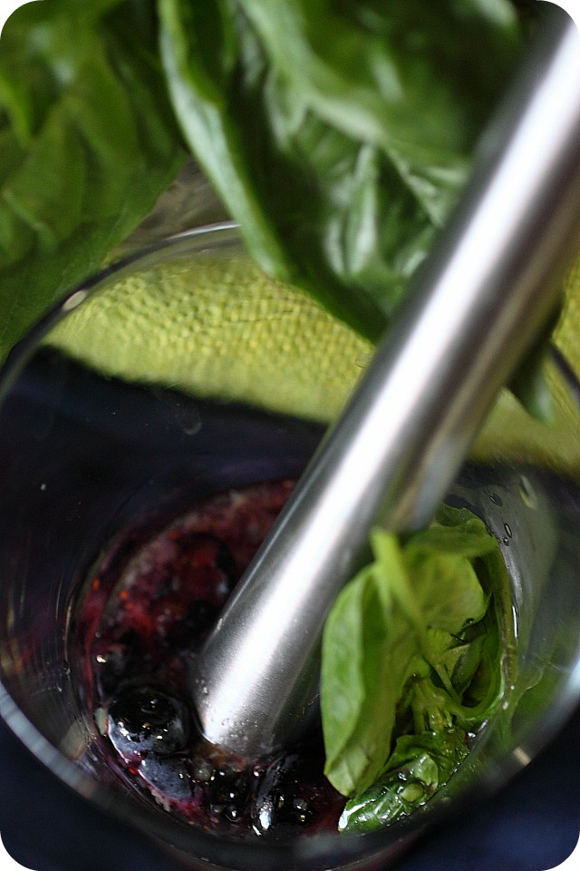 Blueberry Basil Martini Pops Recipes — Dishmaps