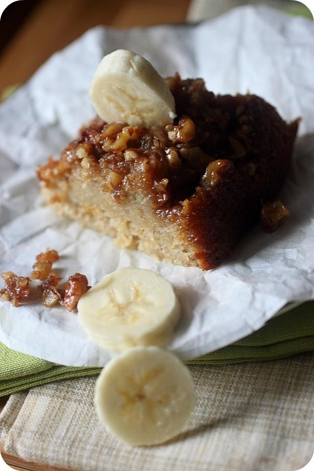 Banana Sticky Bun Bundt Cake {mind-over-batter.com}