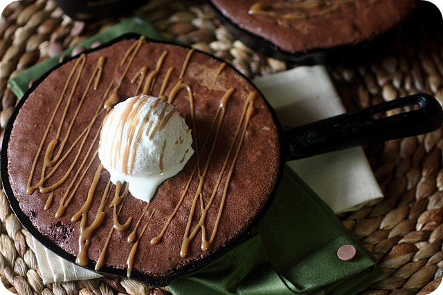 Espresso Liqueur Brownie Pudding {Mind Over Batter}