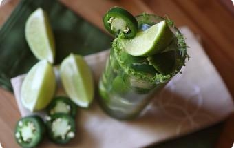 Jalapeño Lime Cocktail {Mind Over Batter}