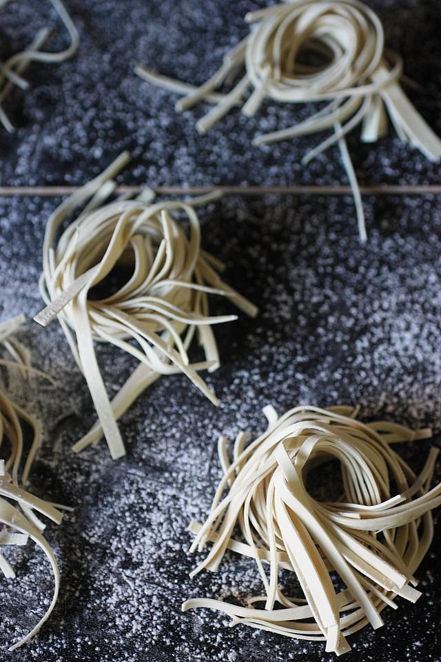 Homemade Ramen Noodles {mind-over-batter.com}