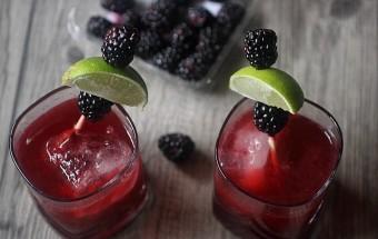 Blackberry Beet Agave Negro {mind-over-batter.com}