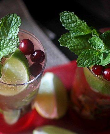 Cranberry Mojito {mind-over-batter.com}
