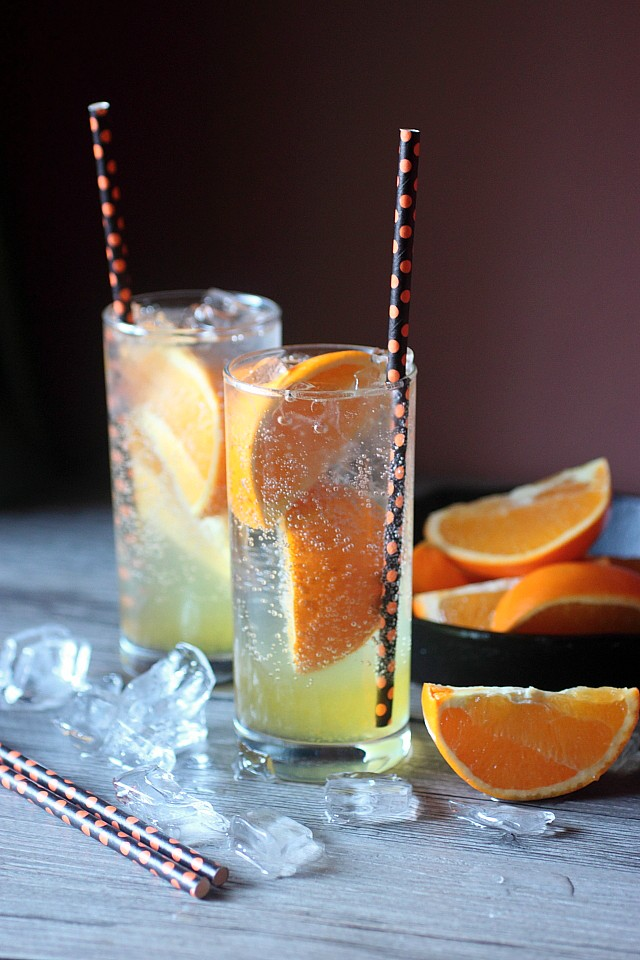 Zesty Orange Soda {mind-over-batter.com}