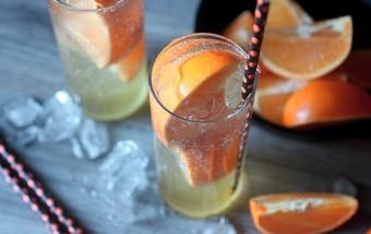 Zesty Orange Soda {mind-over-batter.com}