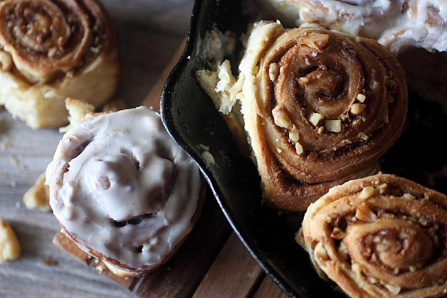 Cinnamon Walnut Sticky Buns