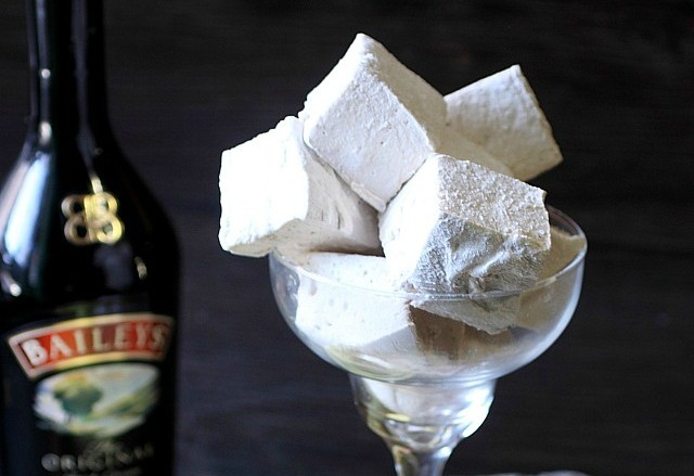 Baileys Irish Cream Marshmallows