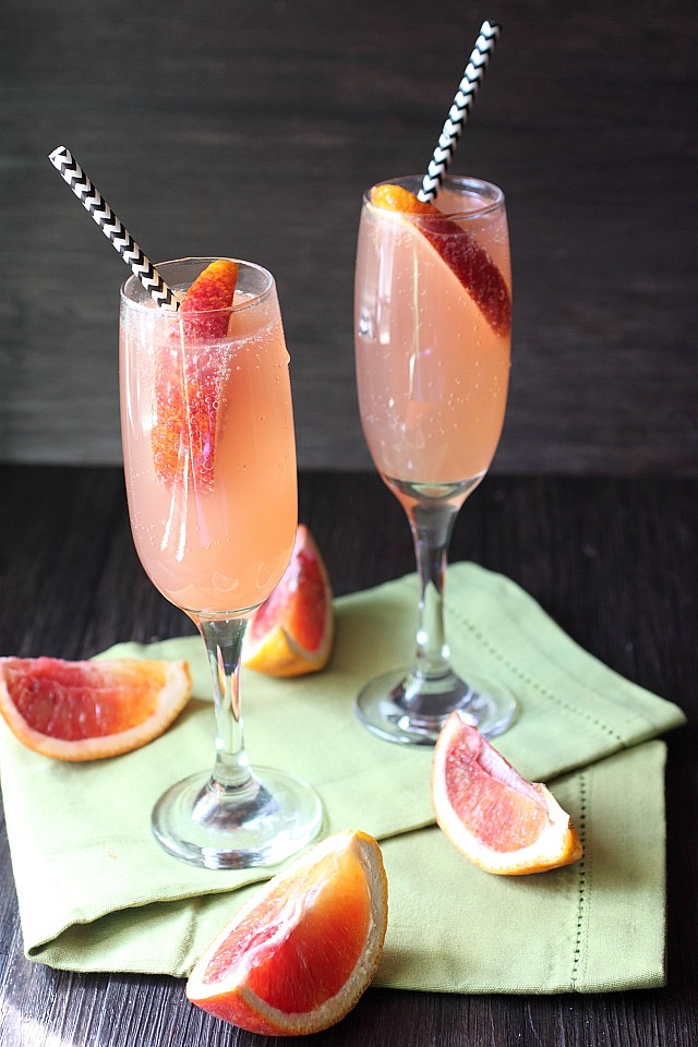Blood Orange Soda {mind-over-batter.com}