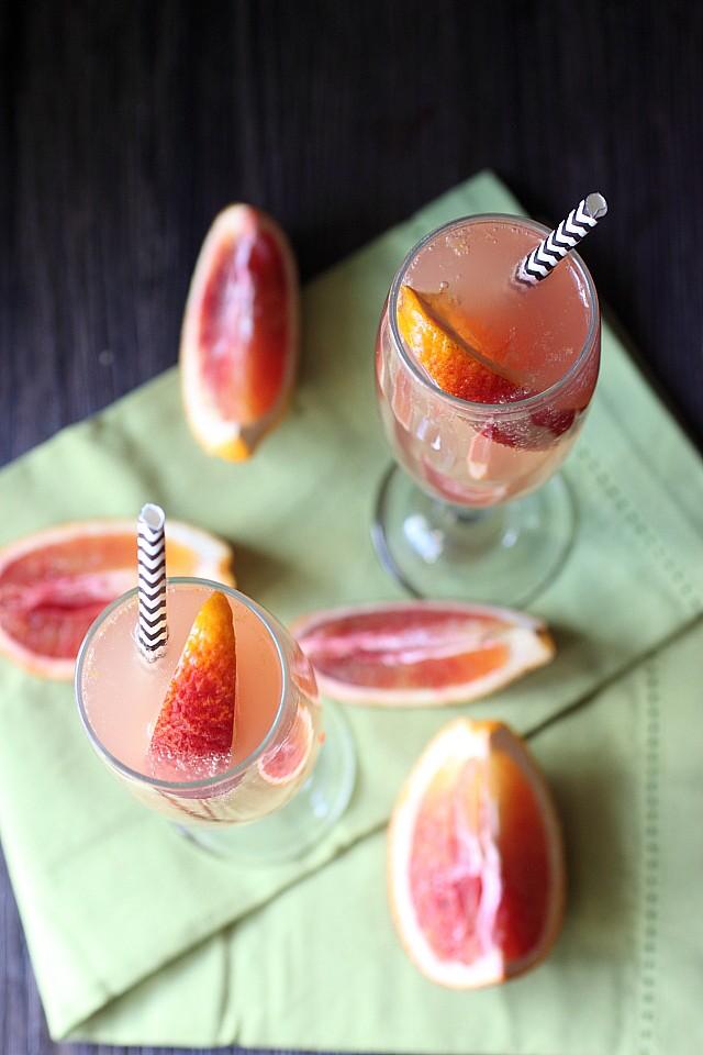 Blood Orange Soda {mind-over-batter.com}