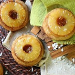 Mini Pineapple Coconut Upside Down Cakes