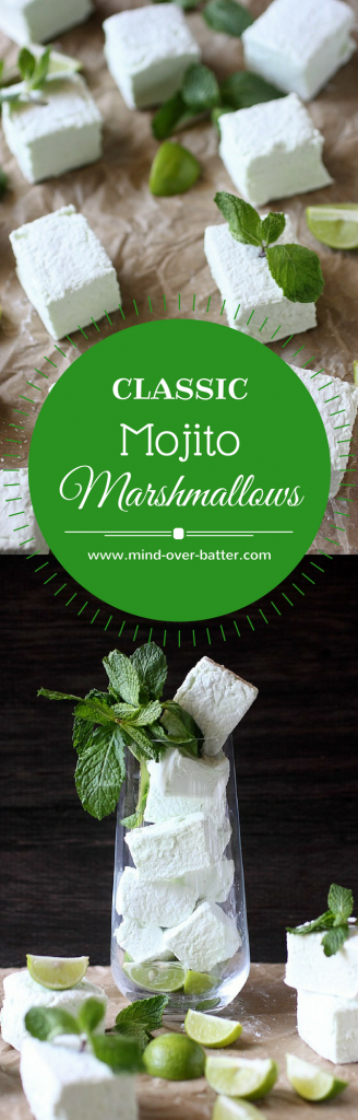 Classic Mojito Marshmallows --- www.mind-mind-over-batter.com