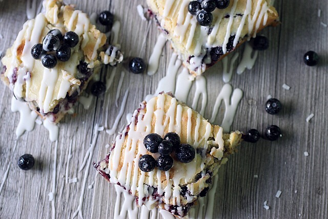 Blueberry Coconut Bars {Mind Over Batter}