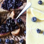 Blueberry Lemon Refrigerator Jam