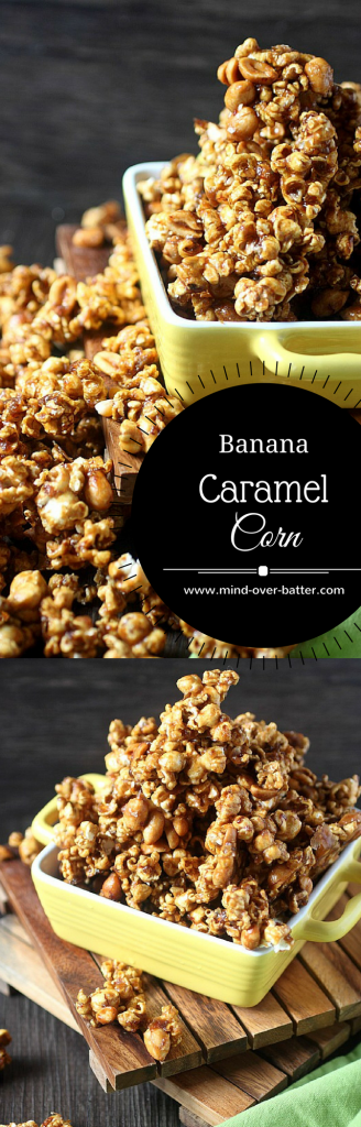 Banana Maple Caramel Corn -- www.mind-over-batter.com