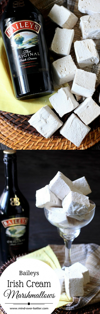 Baileys Irish Cream Marshmallows -- www.mind-over-batter.com